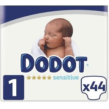 Pañales Dodot Sensitive Talla 1