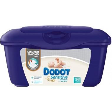 Toallitas Dodot Sensitive con Caja Dispensadora